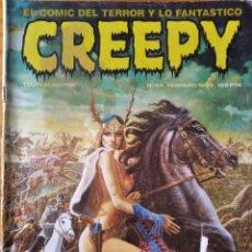 Cómics: CREEPY Nº 44 - EL COMIC DE TERROR Y LO FANTASTICO. TOUTAIN.. Lote 297090853