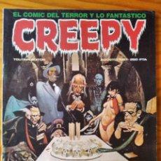 Cómics: CREEPY EXTRA Nº 50 - EL COMIC DE TERROR Y LO FANTASTICO. TOUTAIN.. Lote 297090983
