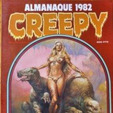 Cómics: CREEPY ALMANAQUE 1982 - EL COMIC DE TERROR Y LO FANTASTICO. TOUTAIN.. Lote 297092073