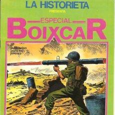Fumetti: LA HISTORIETA, BOIXCAR, Nº 5 MAGNIFICO 44 PGS. 27,5 X 19, MUY NUEVO, BELICO Y C. FICCION. Lote 4855157