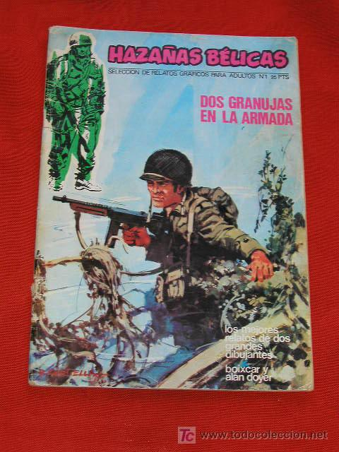 HAZAÑAS BELICAS NUMERO 1 URSUS EDICCIONES 1973 II GUERRA MUNDIAL (Tebeos y Comics - Ursus)