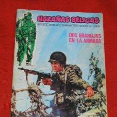 Cómics: HAZAÑAS BELICAS NUMERO 1 URSUS EDICCIONES 1973 II GUERRA MUNDIAL. Lote 26531645