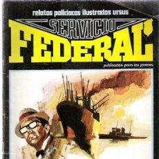 Cómics: SERVICIO FEDERAL - HERENCIA PARA CUATRO ASESINOS - EDICIONES URSUS Nº 1 1980. Lote 10173073