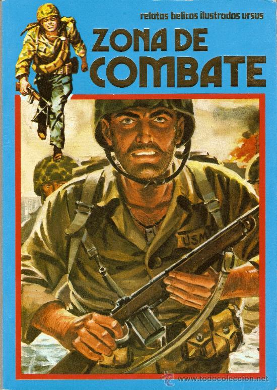 ZONA DE COMBATE - ALBUM EXTRA RETAPADO Nº 17 (113-114-115-116) EDICIONES URSUS (Tebeos y Comics - Ursus)