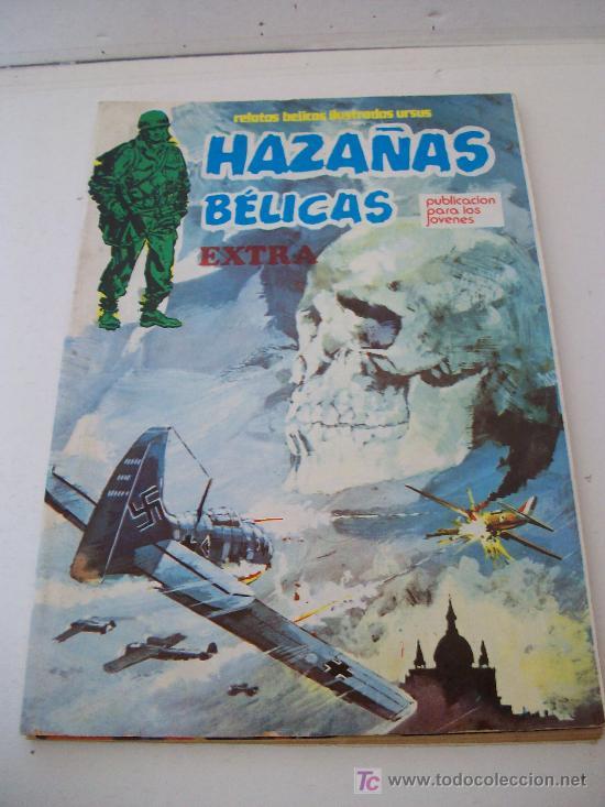 Cómics: Relatos bélicos ilustrados Ursus, HAZAÑAS BELICAS Extra. Lote 11 ejemplares (1 al 12) Ver Fotos - Foto 6 - 26923696