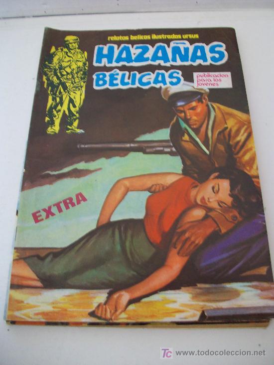 Cómics: Relatos bélicos ilustrados Ursus, HAZAÑAS BELICAS Extra. Lote 11 ejemplares (1 al 12) Ver Fotos - Foto 5 - 26923696