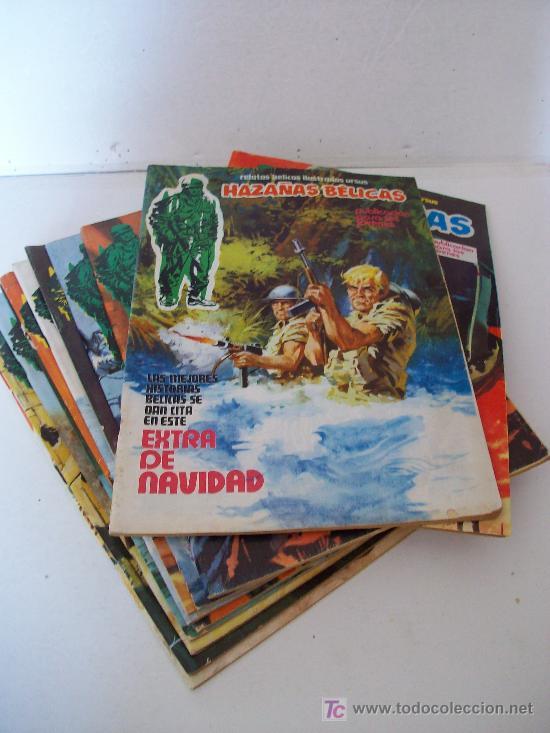 RELATOS BÉLICOS ILUSTRADOS URSUS, HAZAÑAS BELICAS EXTRA. LOTE 11 EJEMPLARES (1 AL 12) VER FOTOS (Tebeos y Comics - Ursus)