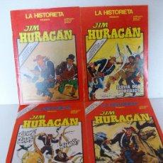 Cómics: JIM HURACAN (URSUS) LOTE DE 4 EJEMPLARES : 18-20-21-22 (JUAN LEÓN EN PÁGINAS CENTRALES. Lote 12803742