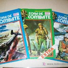 Cómics: ZONA DE COMBATE - LOTE 3 EJEMPLARES - Nº 1 (EXTRA) -42-150 - BUENOS. Lote 24655059
