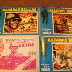 Cómics: HAZAÑAS BELICAS - BOIXCAR - URSUS - LOTE 2 EJEMPLARES - Nº 116-147 - BUENOS. Lote 26162350