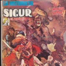 Cómics: SIGUR Nº 1. LA HISTORIETA. URSUS 1973.. Lote 16875301