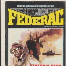 Cómics: SERVICIO FEDERAL Nº 1. Lote 18920215