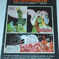 Cómics: LA HISTORIETA - URSUS Nº 4 - ORIGINAL - CONSERVA EL POSTER DE LOPEZ ESPI. Lote 26195561