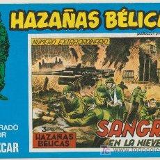 Cómics: HAZAÑAS BÉLICAS Nº 126. BOIXCAR.(CONTIENE 2 EJEMPLARES) EDICIONES URSUS 1973.. Lote 20873990
