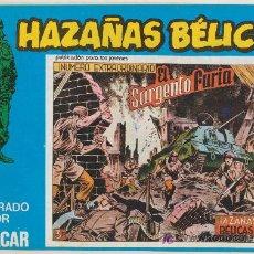 Cómics: HAZAÑAS BÉLICAS Nº 125. BOIXCAR.(CONTIENE 5 EJEMPLARES) EDICIONES URSUS 1973.. Lote 20873998