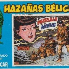 Cómics: HAZAÑAS BÉLICAS Nº 124. BOIXCAR.(CONTIENE 3 EJEMPLARES) EDICIONES URSUS 1973.. Lote 20874006