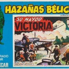 Cómics: HAZAÑAS BÉLICAS Nº 109. BOIXCAR.(CONTIENE 3 EJEMPLARES) EDICIONES URSUS 1973.. Lote 20877162