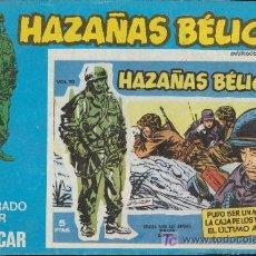 Cómics: HAZAÑAS BÉLICAS Nº 175. BOIXCAR.(CONTIENE 3 EJEMPLARES) EDICIONES URSUS 1973.. Lote 20889062