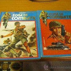 Cómics: 2 TOMOS DE ZONA DE COMBATE 1973 EDITORIAL URSUS RETAPADOS Nº 133-134-135-136-137-138-139-140. Lote 24754471
