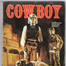 """Fumetti: COWBOY - JOHNNY MANILA - Nº 1 - """"CITA EN EL INFIERNO"""" - URSUS - AÑO 1976.. Lote 26589123"""
