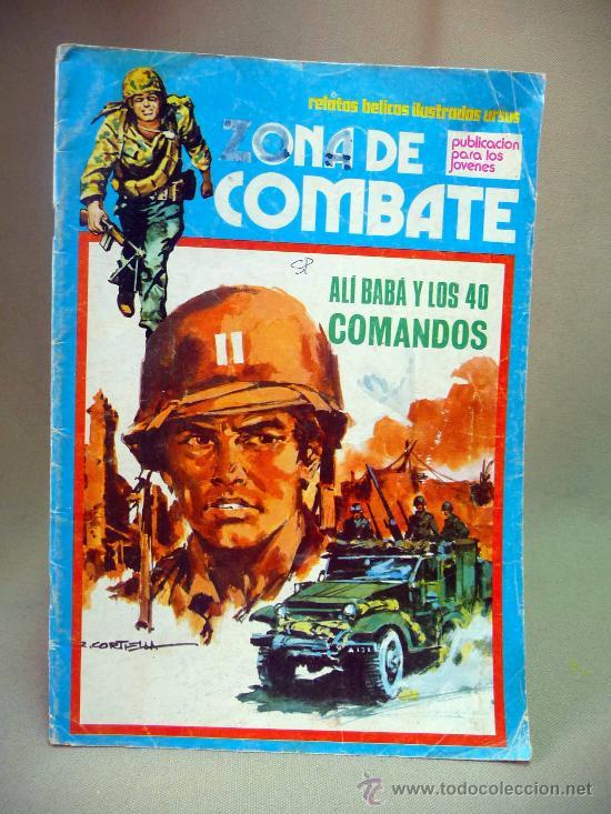 COMIC, ZONA DE COMBATE, RELATOS BELICOS ILUSTRADOS URSUS, ALI BABA Y LOS 40 COMANDOS, Nº 35 (Tebeos y Comics - Ursus)
