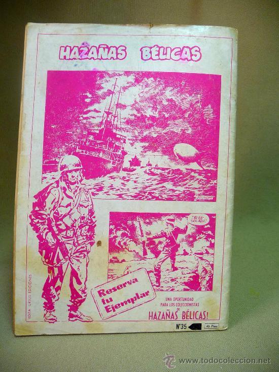 Cómics: COMIC, ZONA DE COMBATE, RELATOS BELICOS ILUSTRADOS URSUS, ALI BABA Y LOS 40 COMANDOS, Nº 35 - Foto 2 - 27943960