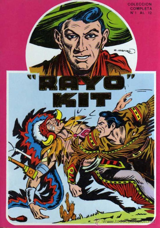 RAYO KIT - G. IRANZO - RETAPADO CON LOS NÚMEROS DESDE EL 1 HASTA EL 12 - URSUS (Tebeos y Comics - Ursus)