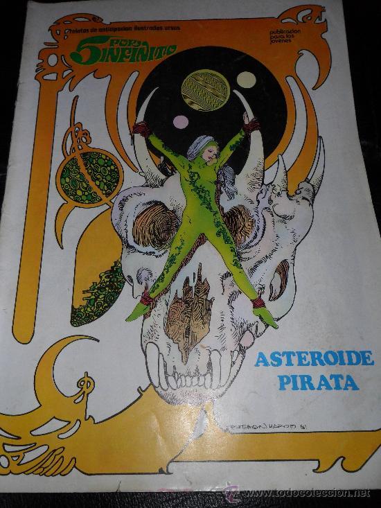 5 POR INFINITO , Nº 2 ASTEROIDE PIRATA , MAROTO (Tebeos y Comics - Ursus)