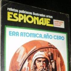 Cómics: RELATOS POLICIACOS ILUSTRADO URSUS ESPIONAJE ERA ATOMICA .AÑO CERO 3 . Lote 30962301