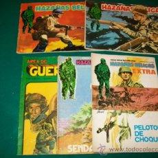 Cómics: URSUS - 4 HAZAÑAS BÉLICAS (EXTRA Nº 1-11-55-60) + 1 AREA DE GUERRA - VILMAR (Nº 7) - BUENOS. Lote 31679795