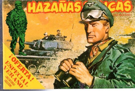 HAZAÑAS BÉLICAS, VOL. 71, ILUSTRADO POR BOIXCAR, DEL 171 AL 175, ORIGINAL (Tebeos y Comics - Ursus)