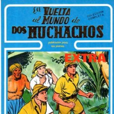 Cómics: VUELTA AL MUNDO DE DOS MUCHACHOS, EXTRA, BOIXCAR, DEL Nº 13 AL 18, COLECCIÓN COMPLETA. Lote 31768295
