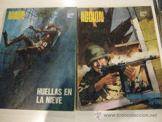 ACCION METRALLA Nº1 Y Nº2. URSUS 1973 (Tebeos y Comics - Ursus)