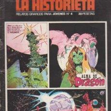 Comics : LA HISTORIETA Nº 4,5,6 Y 7. ALMA DE DRAGÓN(4,5,6) 7 (CONTIENE POSTER CENTRAL). Lote 32831774