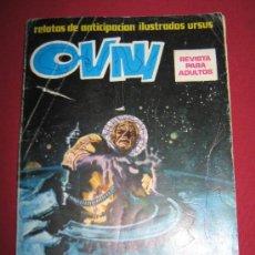 Cómics: RELATOS DE ANTICIPACION ILUSTRADOS URSUS - OVNI - Nº 1. Lote 32867197