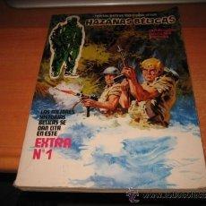Cómics: HAZAÑAS BELICAS EXTRA CON LOS NUMEROS 1 EXTRA NAVIDAD 2-3-4 EDICIONES URSUS 1979. Lote 33973567