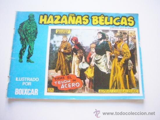 HAZAÑAS BÉLICAS Nº 131. BOIXCAR. URSUS 1973. E11X1 (Tebeos y Comics - Ursus)