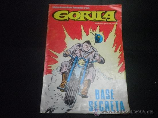 GORILA - Nº 7 - BASE SECRETA (Tebeos y Comics - Ursus)