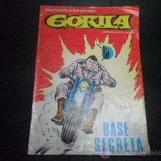 Cómics: GORILA - Nº 7 - BASE SECRETA. Lote 39792876
