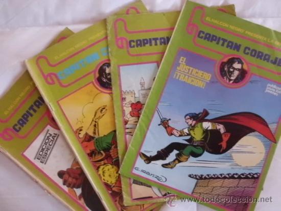 LOTE CAPITAN CORAJE Nº 1 -8- 14 Y 15 (Tebeos y Comics - Ursus)