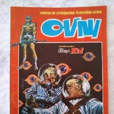 Cómics: OVNI - Nº 10 - ÁTOMO KID - URSUS ED. - 1974 - RELATOS DE ANTICIPACIÓN ILUSTRADOS. Lote 37209288