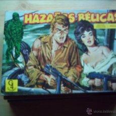 Cómics: HAZAÑAS BÉLICAS. LOTE DE 7 RETAPADOS.. Lote 40711917