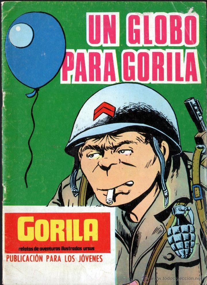 TEBEOS-COMICS GOYO - GORILA - Nº 17 - URSUS - 1973 - ALAN DOYER *CC99 (Tebeos y Comics - Ursus)