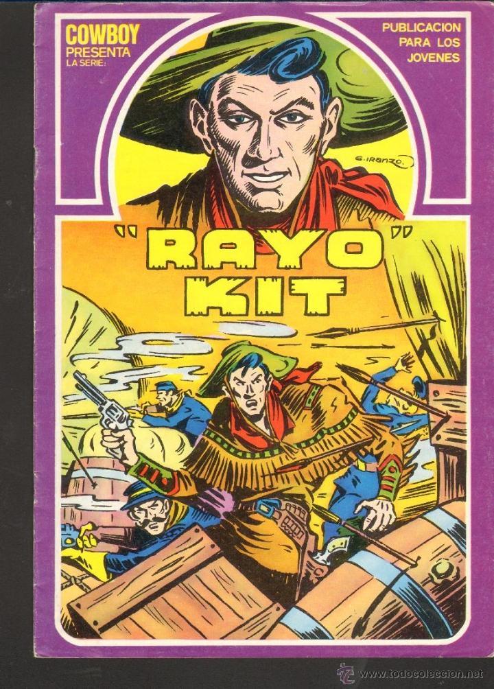 TEBEOS-COMICS CANDY - RAYO KIT - ED. URSUS - Nº 1 - IRANZO *BB99 (Tebeos y Comics - Ursus)