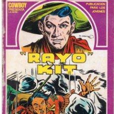 Cómics: COW BOY PRESENTA: RAYO KIT. Nº 10. URSU. PROCEDENTE DE RETAPADO.C/A11. Lote 43632551