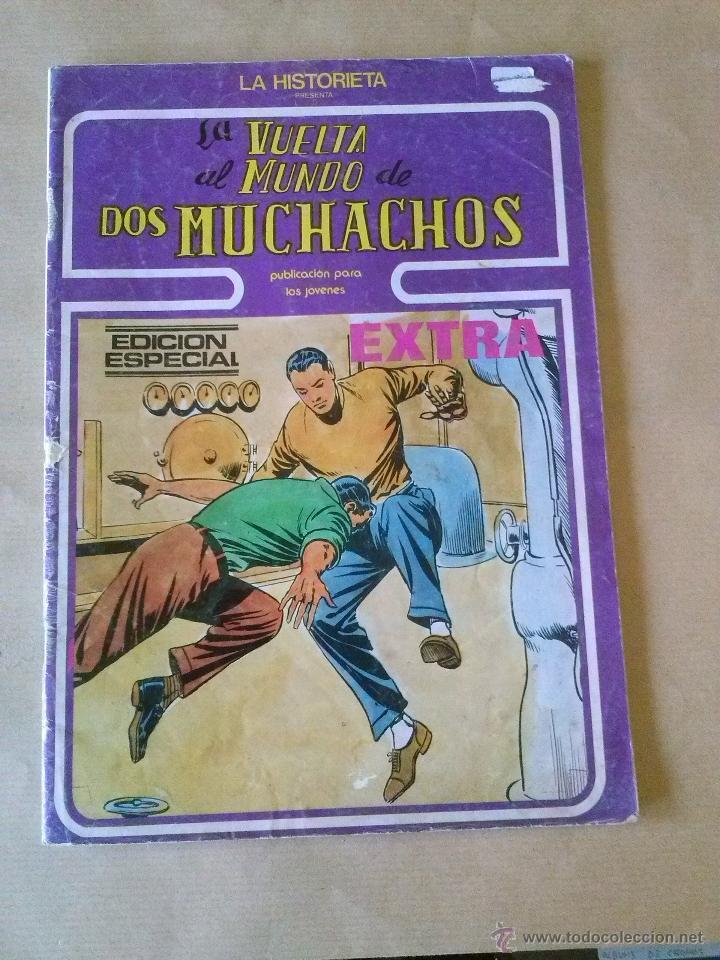 LA HISTORIETA PRESENTA- LA VUELTA AL MUNDO DE DOS MUCHACHOS Nº 16 - URSUS (Tebeos y Comics - Ursus)