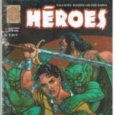 Cómics: HÉROES. NUMERO ÚNICO. COMIC BOOKS ESPAÑOLES. PLANETA (C/A12). Lote 44829820
