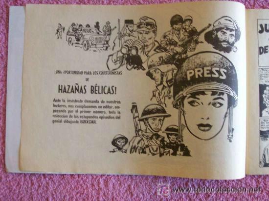 Cómics: hazañas bélicas 127 ediciones ursus 1983 entre dos muertes - Foto 3 - 45385974