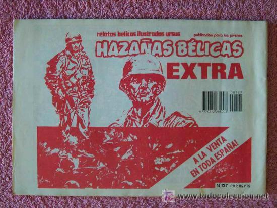 Cómics: hazañas bélicas 127 ediciones ursus 1983 entre dos muertes - Foto 5 - 45385974