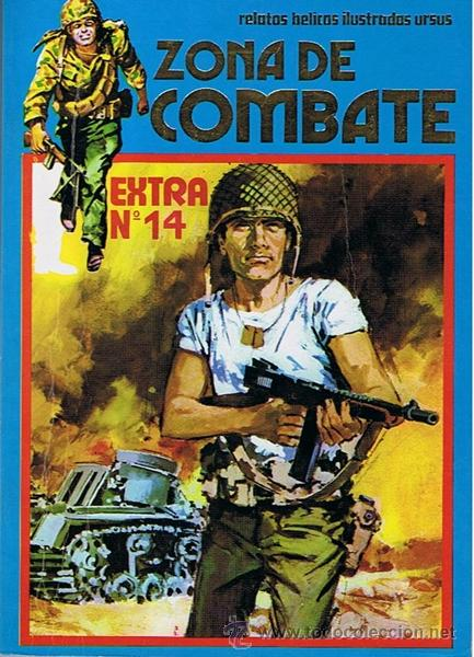 CÓMIC ZONA DE COMBATE EXTRA N. 14 (Tebeos y Comics - Ursus)